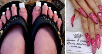 La nouvelle mode des ongles longs fait fureur dans le monde entier, mais les photos laissent perplexes