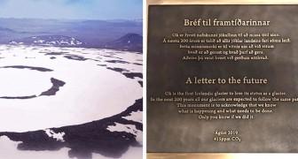 In Islanda è stata installata una targa per ricordare il primo ghiacciaio ucciso dai cambiamenti climatici