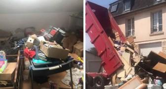 Die Mieter hinterlassen das Haus voller Müll: Die Rache des Besitzers ist wirklich originell