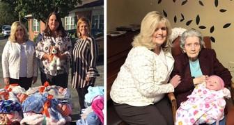 Cette association offre des poupées aux personnes atteintes d'Alzheimer, pour les réconforter et les aider à mieux vivre