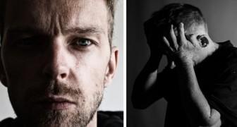 Hier sind die 14 Zeichen, die auf den Fortschritt einer Depression bei Männern hinweisen