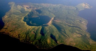 Vulcan Point: hier ist die Insel innerhalb des Vulkans, der sich innerhalb einer Insel befindet, die sich innerhalb eines Vulkans befindet