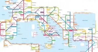 L'Impero Romano come una linea della metropolitana: la geniale intuizione di uno studioso americano