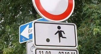 In Berlin ist eine Straße für Kinder zum Spielen komplett für den Verkehr gesperrt worden