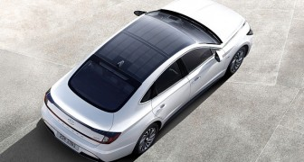Dieser neue Hyundai-Hybrid lädt sich dank seines Daches aus Solarmodulen bis zu 60% auf