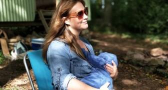 Allattare tuo figlio è la cosa più naturale del mondo, nessuno dovrebbe mai dirti di coprirti