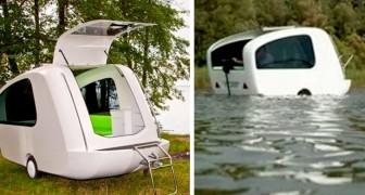 Arriva il camper anfibio che vi permetterà di godervi le vacanze su strada e...in acqua!