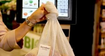 Un sac en coton pour les fruits et légumes : voici comment cette entreprise bien connue devient sans plastique