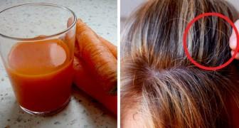 Questi trucchi facili e 100% naturali vi aiuteranno a nascondere i capelli più grigi