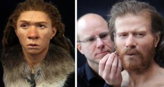 Ein Mann rekonstruiert das Gesicht unserer Vorfahren: so waren wir vor Tausenden von Jahren