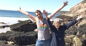 Il nipote scopre che la nonna non è mai stata al mare e parte con lei per un viaggio memorabile