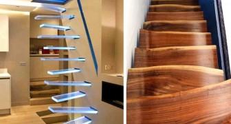 Ecco 15 scale davvero particolari su cui non vorreste mai salire o scendere!