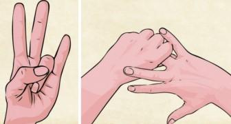 Händernas kraft - det här är fördelarna som uppnås när du sätter dem så här
