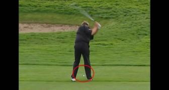 Il lancio più fortunato di tutti i tempi a golf