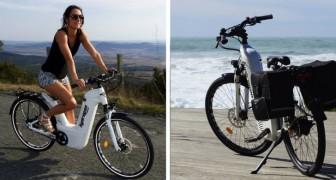 Alpha 2.0 è la prima bicicletta elettrica ad idrogeno facilmente ricaricabile ed economica