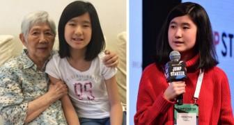 Une fillette de 12 ans veut empêcher que sa grand-mère malade d'Alzheimer ne l'oublie : voici son invention