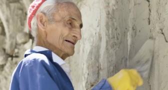 Dieser Mann ist 93 Jahre alt und hat mit bloßen Händen eine riesige Kathedrale gebaut