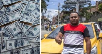Una mujer olvida 12.000 dólares a bordo del auto pero este taxista decide de restituirle todo