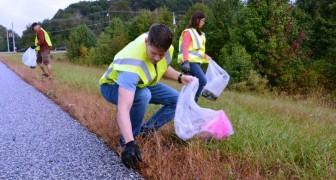 Raccogliere i rifiuti degli altri aiuta a salvaguardare l'ambiente, la nostra salute e anche il conto in banca