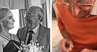 Per far tornare il sorriso alla nipote convalescente, il nonno le fa un regalo davvero speciale