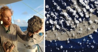 Ein Meer aus vulkanischem Gestein dringt in den Pazifischen Ozean ein und steuert auf Australien zu: Deshalb ist es eine gute Nachricht