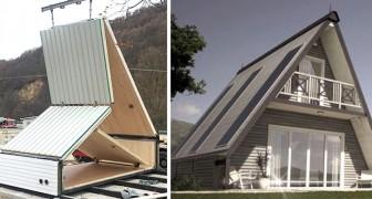 Dit is MADI, het opvouwbare, goedkope en groene huis dat in slechts 6 uur kan worden gemonteerd