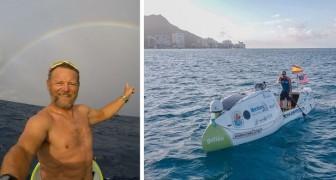 Il voyage de la Californie à Hawaii en 2 mois à bord d'un paddle : chaque jour il voit du plastique en mer