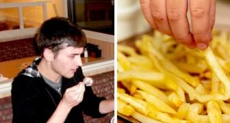 Un garçon ne mange pratiquement que des frites pendant des années et risque de devenir totalement aveugle