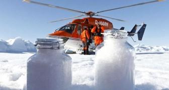 In der Arktis schneit es Plastik: Tausende von Partikeln, die selbst in den entlegensten Gebieten gefunden wurden