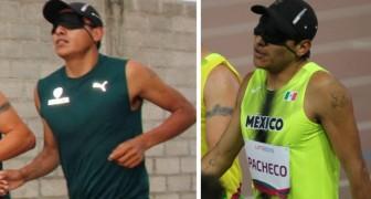 Um atleta cego paga a sua ida aos Jogos Pan-americanos cantando no metrô e conquista a medalha de bronze