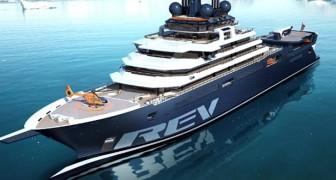 Dieses riesige Anti-Kunststoff-Schiff ist ein Konzentrat von Technologie im Dienste der Umwelt