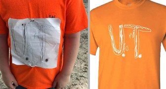 Un enfant est harcelé à cause de son t-shirt dessiné à la main : l'Université en fait le t-shirt officiel de l'institut