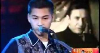 Non riuscirai mai a credere che questo ragazzo di 15 anni canta come Johnny Cash
