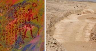 Gli archeologi scoprono la rampa inclinata che permise agli antichi egizi di costruire le piramidi