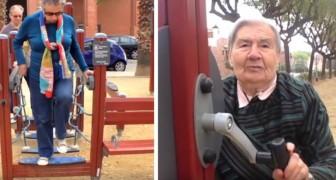 En Espagne, les aires de jeux pour les personnes âgées sont nés, luttant ainsi contre la solitude tout en gardant la forme