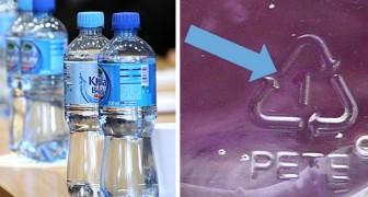 Symboles et chiffres sous les bouteilles en plastique : ce qu'ils signifient et pourquoi il est important de les connaître
