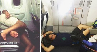 High altitude rudeness illustrated with 12 photos showing the worst side of airline passengers