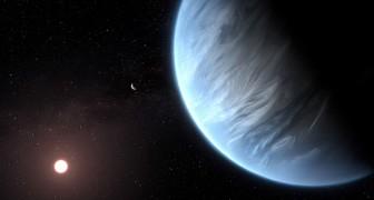 Entdeckung von Wasser auf einem Planeten 110 Lichtjahre von uns entfernt, der bewohnbar sein könnte