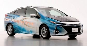 Toyota sta progettando un'automobile ad energia solare che possa funzionare sempre