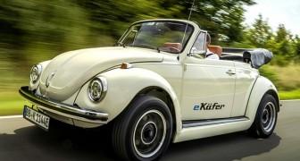 Il mitico Maggiolino si converte all'energia elettrica: arriva eKafer