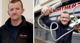 Het verhaal van James Anderson, een Engelse loodgieter die gratis reparaties uitvoert aan minderbedeelden