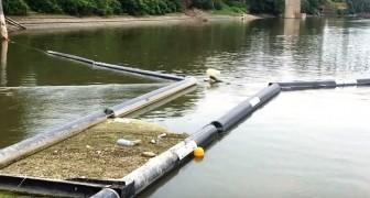 Po d'Amare: il progetto che blocca la plastica nel fiume Po per evitare che raggiunga il mare