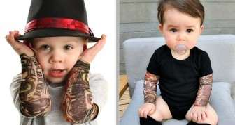 Diese Kleidung mit Tattoo-Ärmeln lässt deine Kinder wie echte Rockstars aussehen