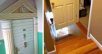 Spannende Renovierungen: 17 Fotos von Häusern, in denen man nie leben möchte