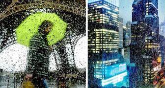 Questo fotografo riesce a catturare il fascino nascosto delle città sotto la pioggia