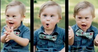Este menino com Síndrome de Down foi recusado como modelo, mas agora ele é uma estrela da Internet