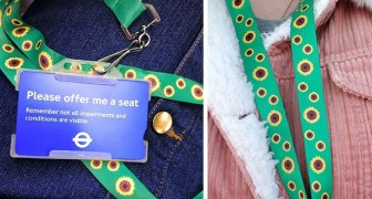 Ces rubans porte-clés avec des tournesols ont une signification précise : que faire si on rencontre quelqu'un qui en porte un