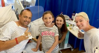 She decides to donate a kidney to her ex-husband so her daughters won't lose their dad