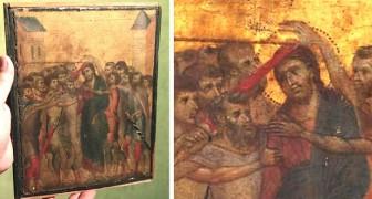 Een oudere vrouw heeft jarenlang een schilderij in de keuken en ontdekt dan dat het een Cimabue is die meer dan 4 miljoen euro waard is