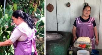 Questa nonnina ha conquistato migliaia di seguaci con i video delle sue ricette fatte in casa